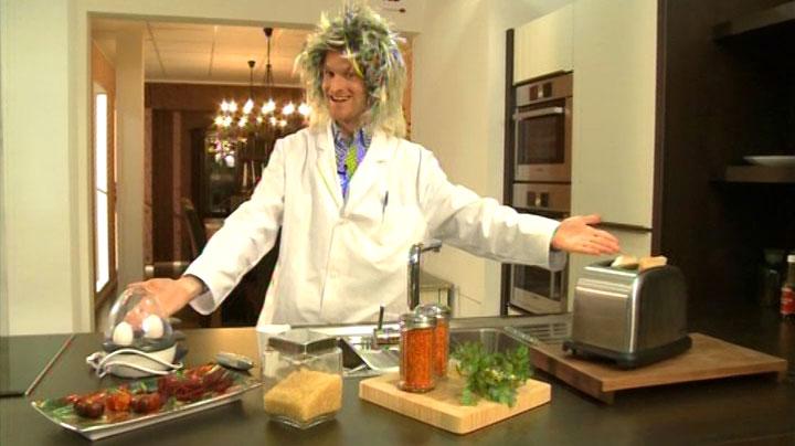 Mein Auftritt als wirrer Erfinder in RTL2 'Schau dich schlau' - Szenenfoto (1)