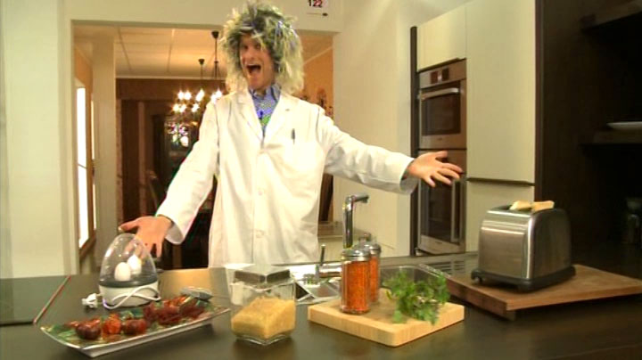 Mein Auftritt als wirrer Erfinder in RTL2 'Schau dich schlau' - Szenenfoto (14)