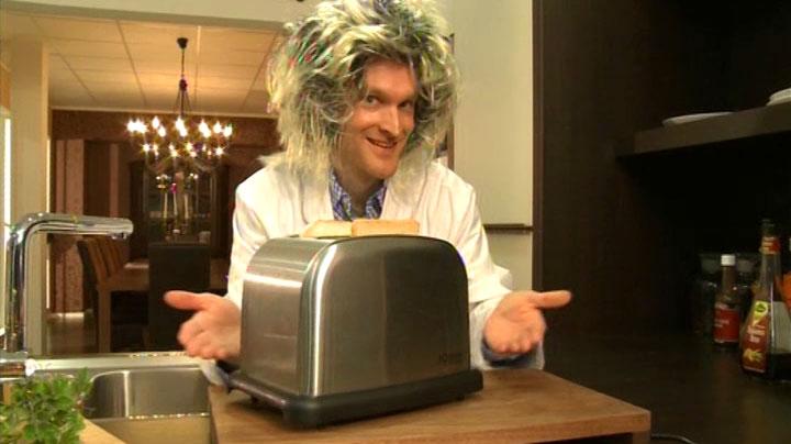 Mein Auftritt als wirrer Erfinder in RTL2 'Schau dich schlau' - Szenenfoto (2)